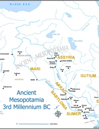 Ancient Mesopotamia 2000 BC